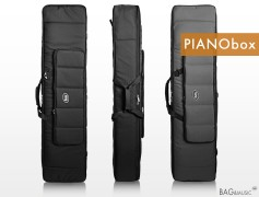 Легкий чехол для пианино, клавишных инструментов 133х30х17 см PIANObox_88 CASUAL